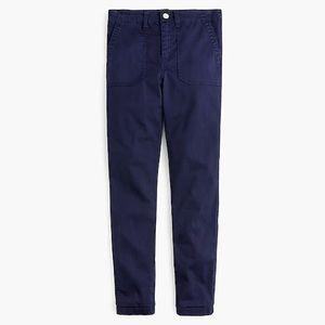 J Crew Navy Ankle Skinny Fit Pants